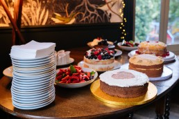 home made wedding cakes london